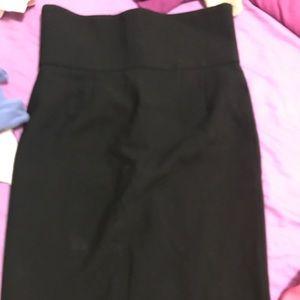 Zara high waist pencil skirt